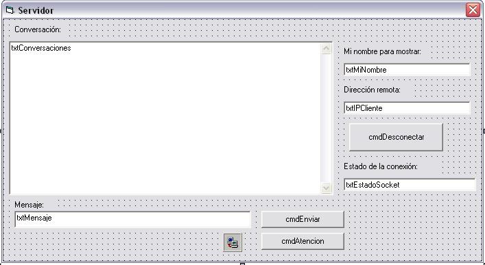 Primera versión del formulario servidor