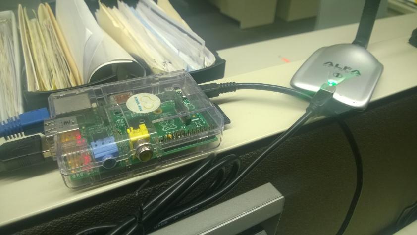 Raspberry Pi de pruebas