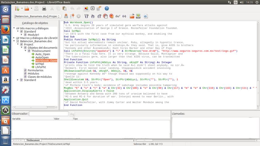 Analizando el código